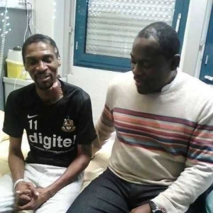 After 2 Months in a French Hospital, Cameroonian legend, Rigobert Song smiles again